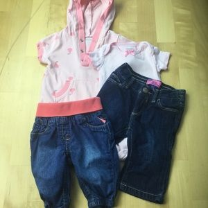 Other - 4 pc girls lot 0-3 months